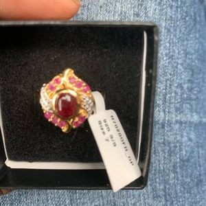 Antique Ruby ring size 7